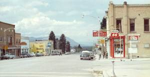 Main Street Manti, 1974