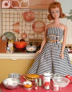 Midge in the Kitchen